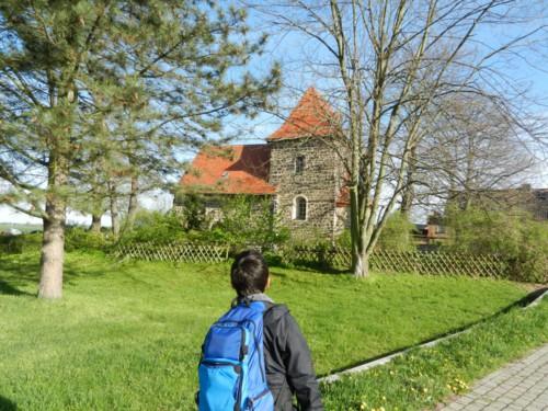 Die Wehrkirche in Kulkwitz