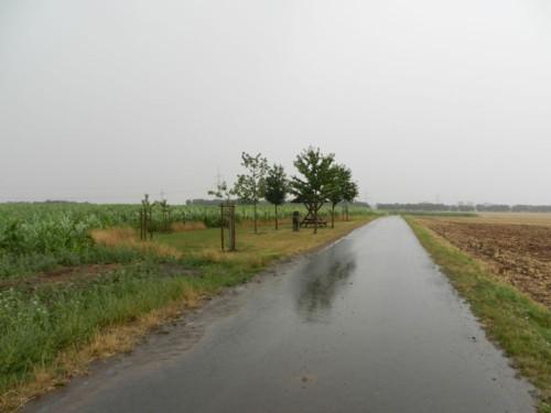 Nur leichter Regen hinter Grabsleben