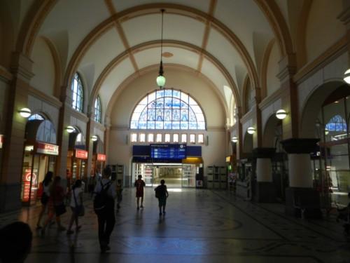 Der Bahnhof von Eisenach