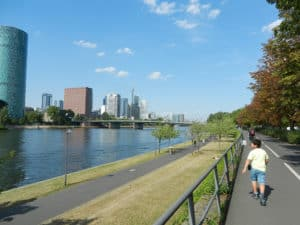 Frankfurt mit Skyline