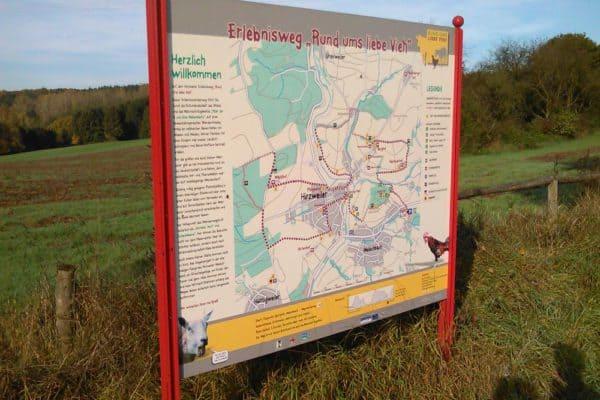 Rund um liebe Vieh - ein Themenweg in Hirzweiler