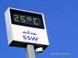 25° in St. Wendel