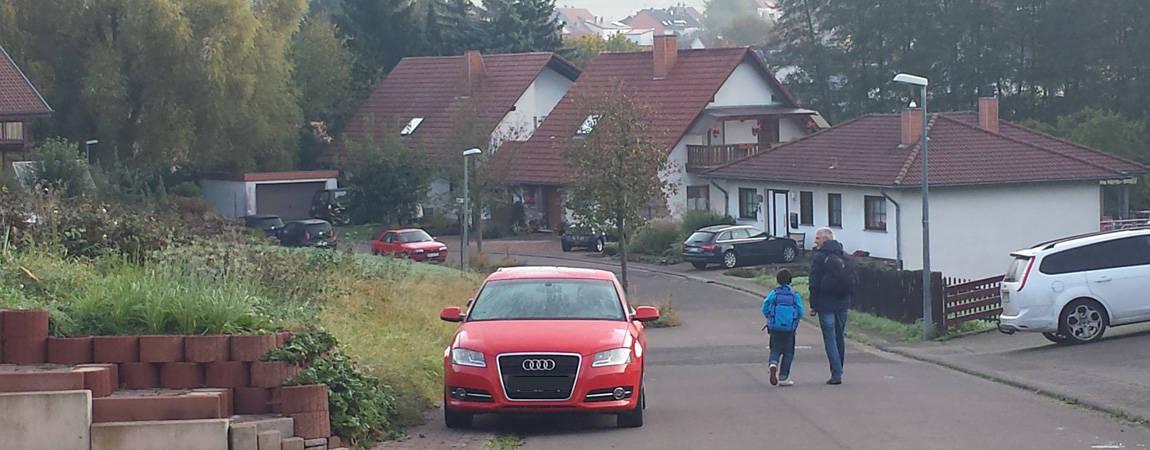 Der Start - Von Illingen nach St. Wendel