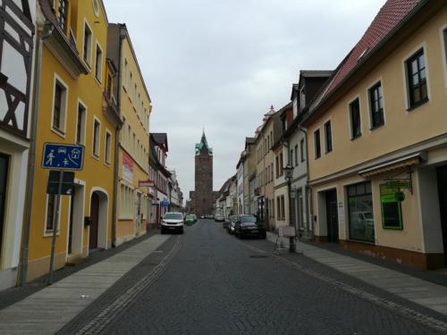 Breiter Turm in Delitzsch