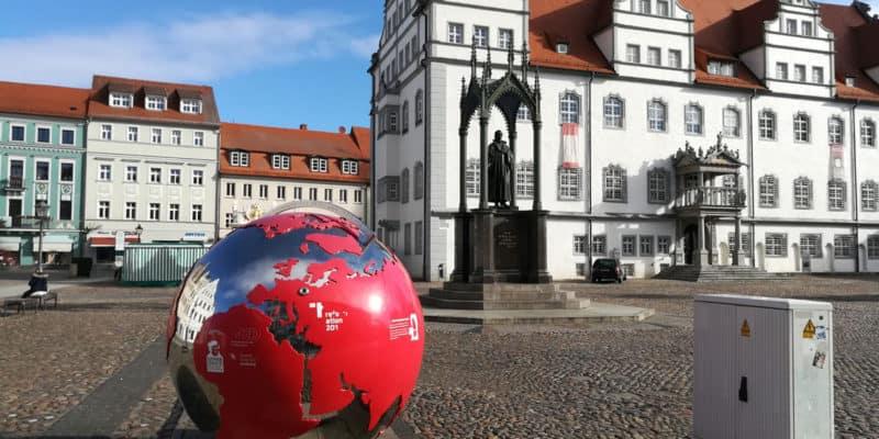 Stadtrundgang durch die Lutherstadt Wittenberg auf dem Weg nach Zahna