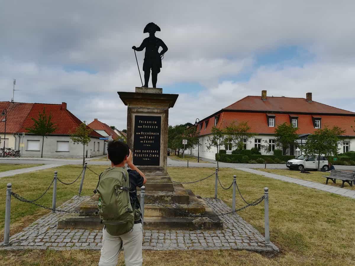 Kloster Zinna - Auf dem Weg von Jüterbog nach Luckenwalde