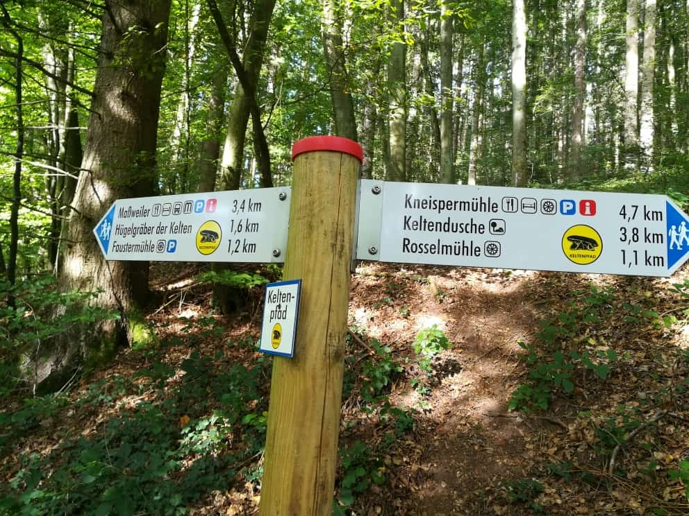 Keltenpfad bei Maßweiler