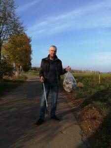 Müllwandern mit Arno Meyer