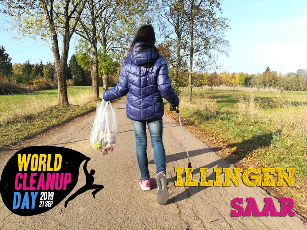 World Cleanup Day (WDC) 2019 in Illingen