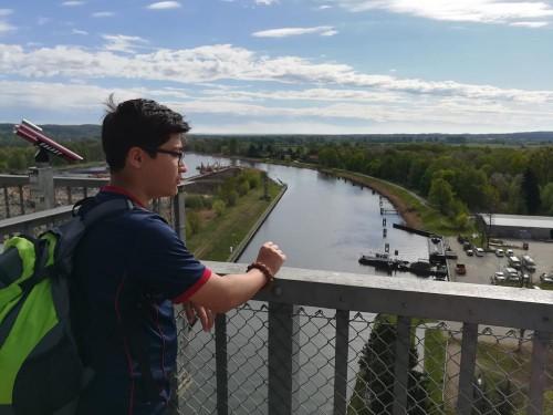 Blick auf den Finowkanal