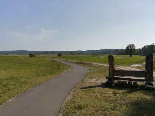 Landschaft vor Niederfinow