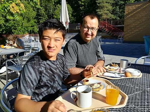 Frühstück in der Jugendherberge Wannsee