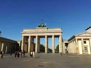 Berlin am frühen Morgen