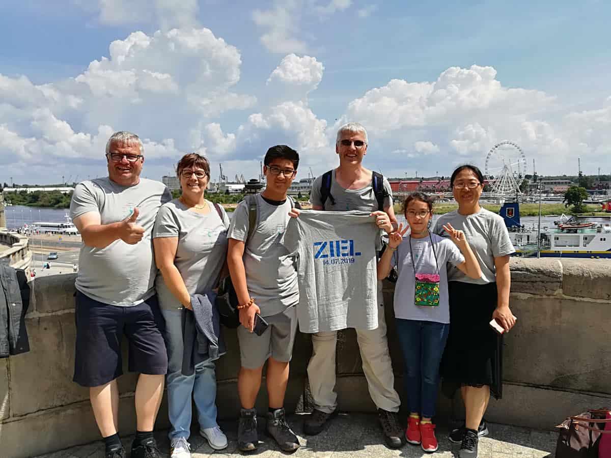 Am Ziel: die Hakenterrassen in Stettin