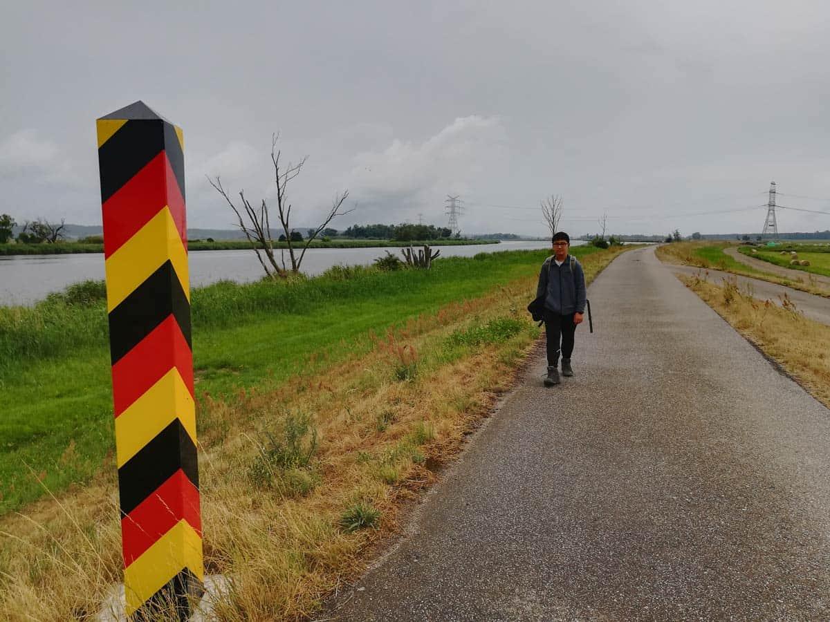 Entlang der Oder von Schwedt nach Gartz