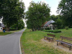 Pargowo der erste Ort in Polen