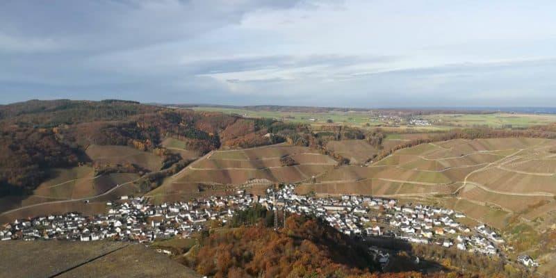 Ahrsteig - Blick vom Krausbergturm