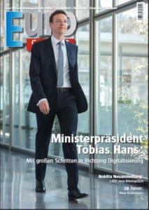 "Artikel im Magazin ""EURO Saar"""