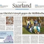 Artikel in der Saarbrücker Zeitung