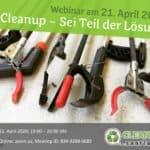 Cleanup - Sei Teil der Lösung
