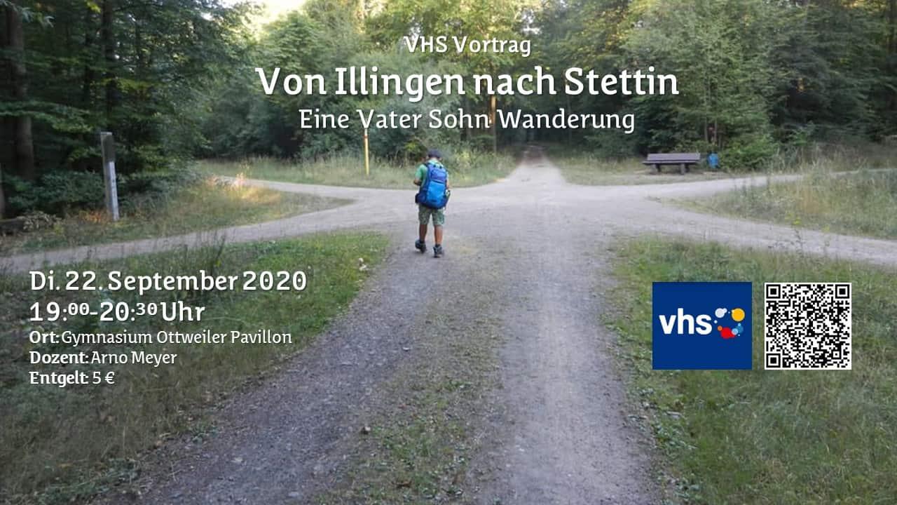 VHS Vortrag: Von Illingen nach Stettin