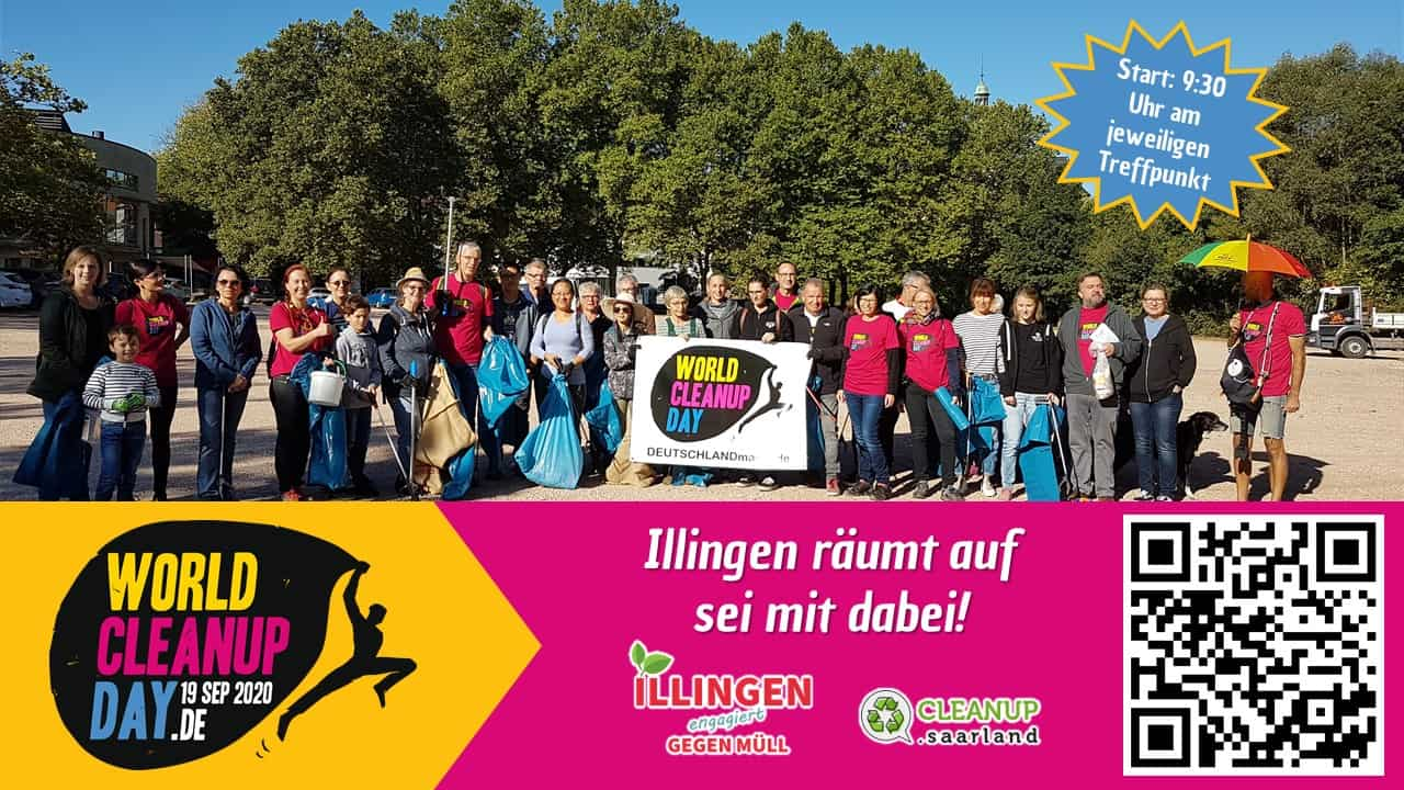 World Clean Up Day in Illingen