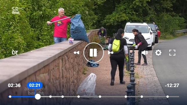 Aktueller Bericht über den Cleanup am Schlossberg Homburg